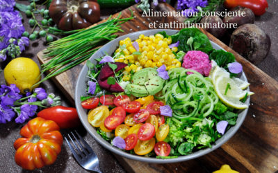 Alimentation consciente et antiinflammatoire